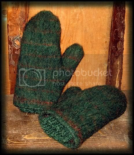 mittens,knittes,felted,felted,fulled,felted mittens
