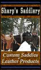 Sharp's saddlery - custom saddles &amp; leather products