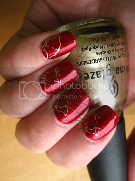 christmas bells konadicure konad stamping m12 opi smitten with mittens nail polish nailswatches