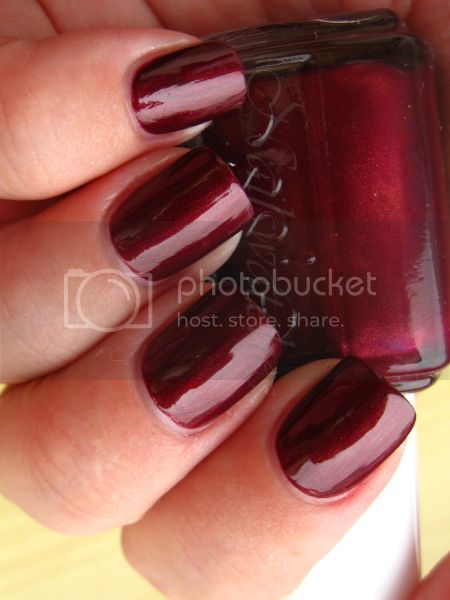 essie swing velvet nail polish nailswatches