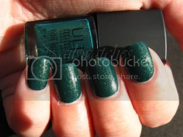 ulta tained love green shimmer nail polish glam goth set exclusive nailswatches